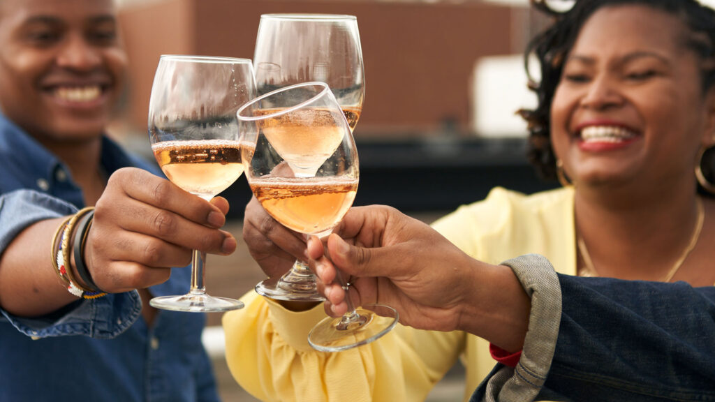 Uncorked&Cultured toasts with McBride Sisters