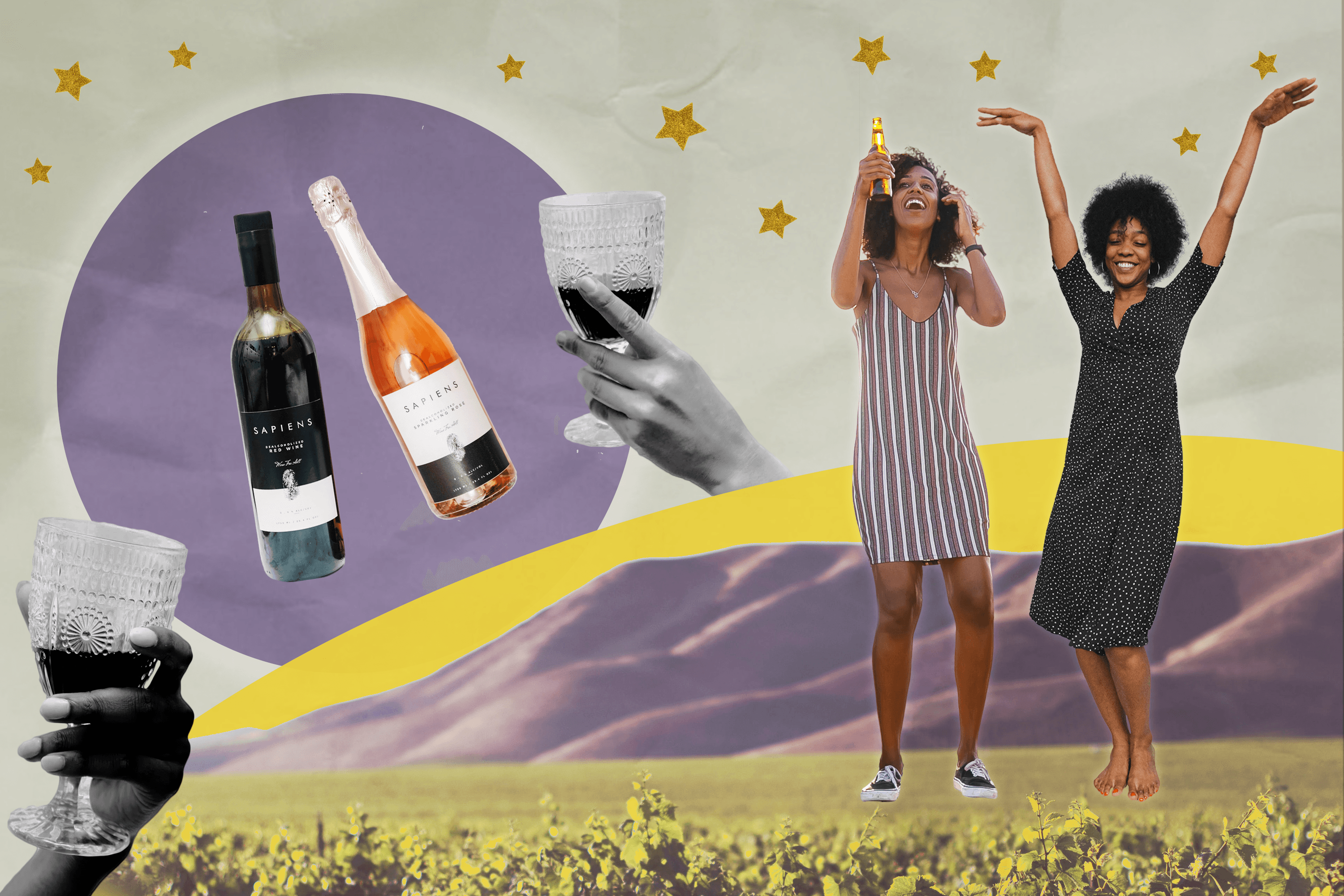 """Sipping Sober: Enjoying the """"Dry"""" Wine Life"""